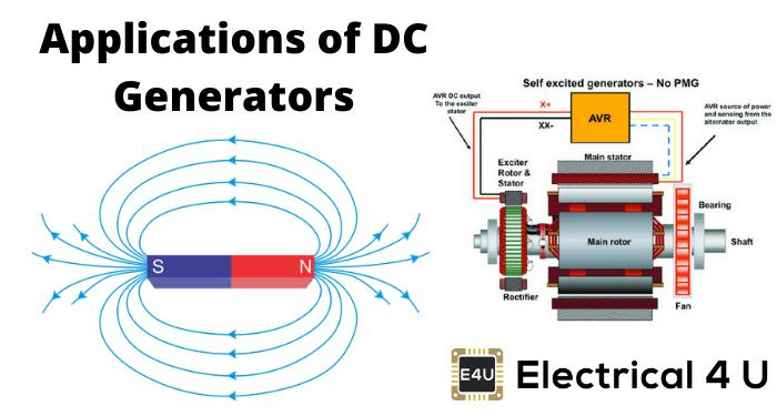 Applications Of Dc Generators