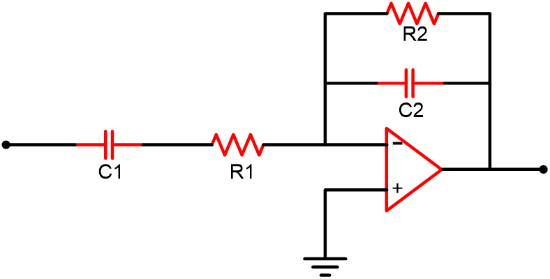 Band Pass Filter Transfer Function