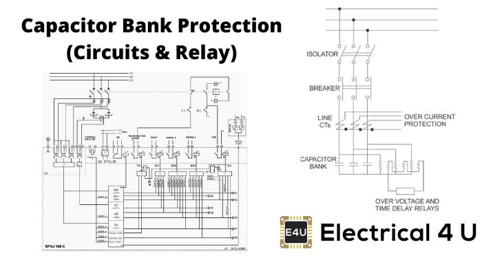 Capacitor Bank Protection (circuits And Relay)