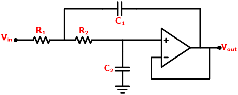Circuit Diagram of Chebyshev Filter