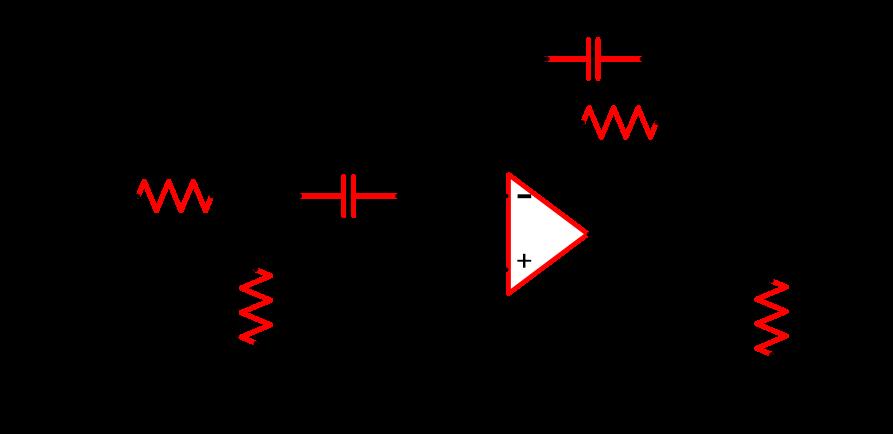 Circuit Diagram of Narrow Band Pass Filter