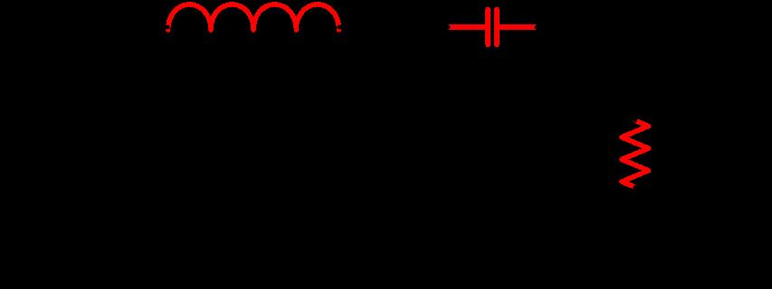 Circuit Diagram of RLC Band Pass Filter