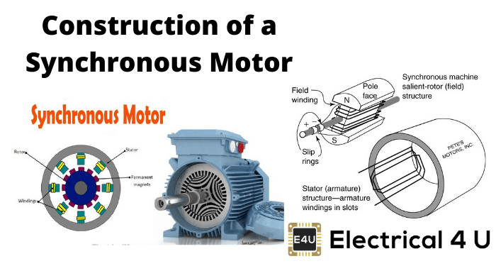 Construction Of A Synchronous Motor