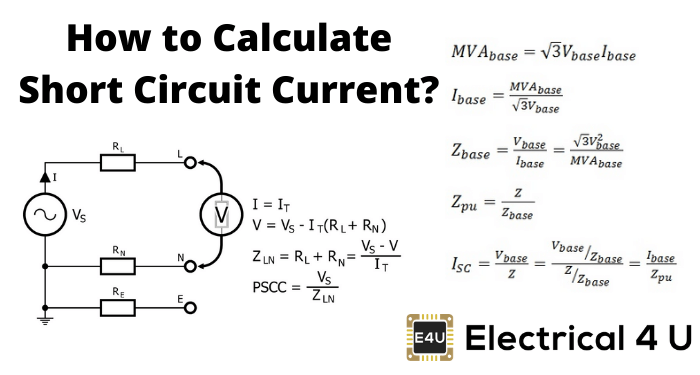 How To Calculate Short Circuit Current