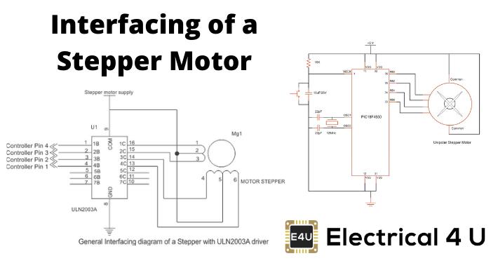 Interfacing Of A Stepper Motor