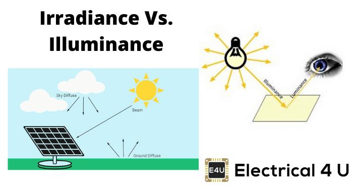 Irradiance Vs. Illuminance