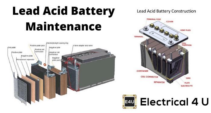 Lead Acid Battery Maintenance
