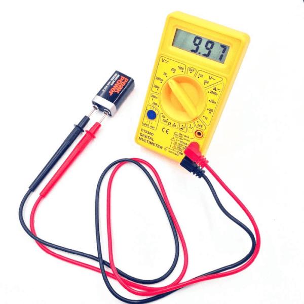 Multimeter for Voltage Measurement