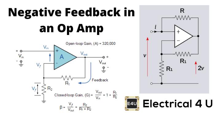 Negative Feedback In An Op Amp