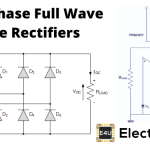 3 Phase Full Wave Diode Rectifier (Equations And Circuit Diagram)