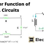 RL Circuit Transfer Function Time Constant RL Circuit as Filter