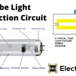 Tube Light Connection Circuit & Wiring Diagram