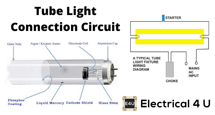 Tube Light Connection Circuit