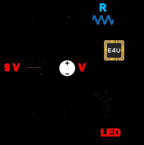 voltmeter connection for measurement of battery voltage