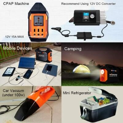 Webetop generator charging mobile devices and used as a light out camping
