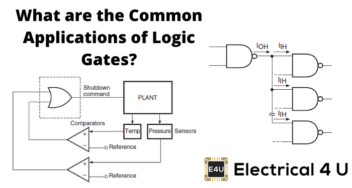 What Are The Common Applications Of Logic Gates