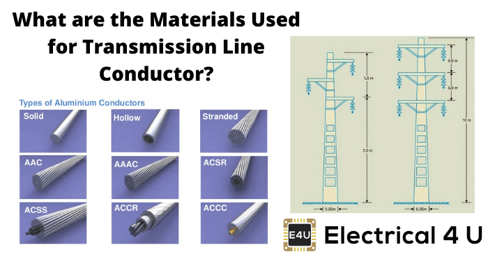 What Are The Materials Used For Transmission Line Conductor