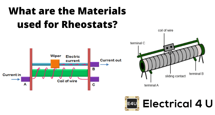 What Are The Materials Used For Rheostats