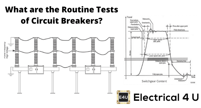What Are The Routine Tests Of Circuit Breakers