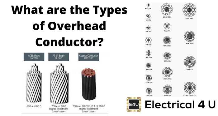 What Are The Types Of Overhead Conductor