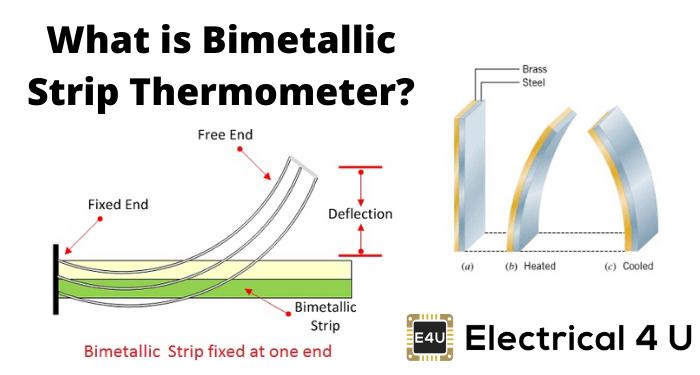 What Is Bimetallic Strip Thermometer