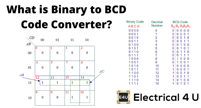 What Is Binary To Bcd Code Converter