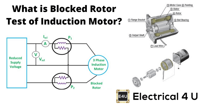 What Is Blocked Rotor Test Of Induction Motor