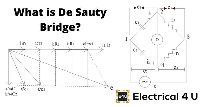 What Is De Sauty Bridge