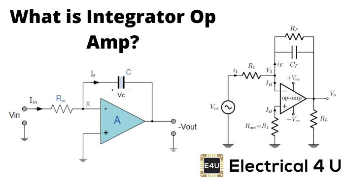 What Is Integrator Op Amp