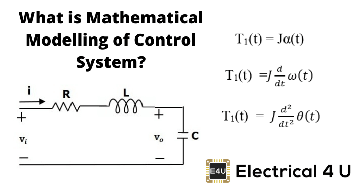 What Is Mathematical Modelling Of Control System