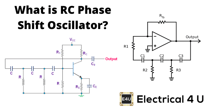What Is Rc Phase Shift Oscillator