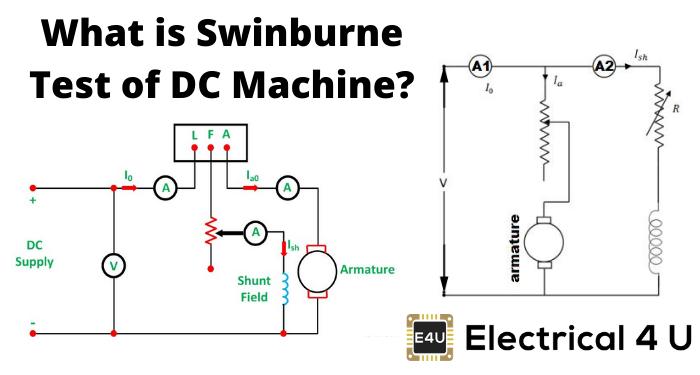 What Is Swinburne Test Of Dc Machine