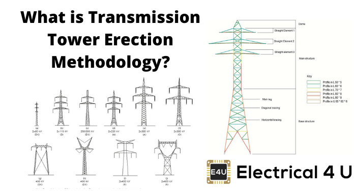 What Is Transmission Tower Erection Methodology