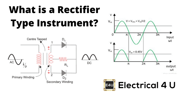What Is A Rectifier Type Instrument