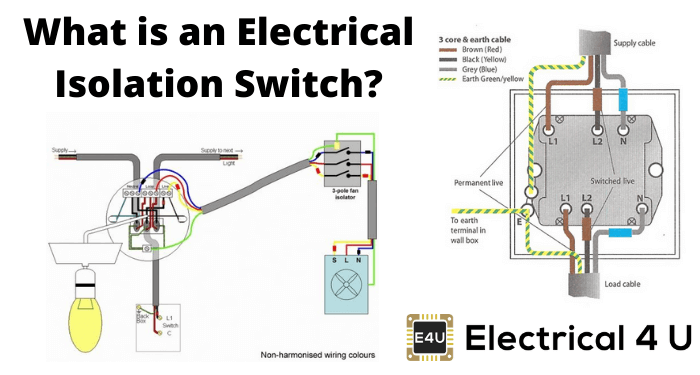 What Is An Electrical Isolation Switch