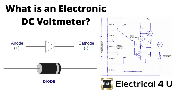 What Is An Electronic Dc Voltmeter