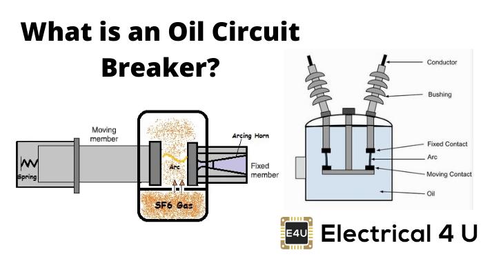 What Is An Oil Circuit Breaker