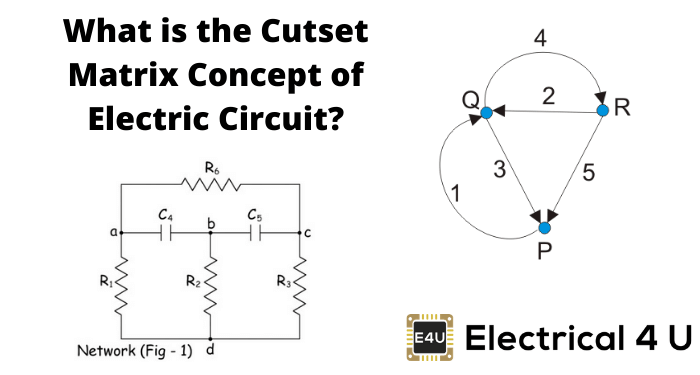 What Is The Cutset Matrix Concept Of Electric Circuit