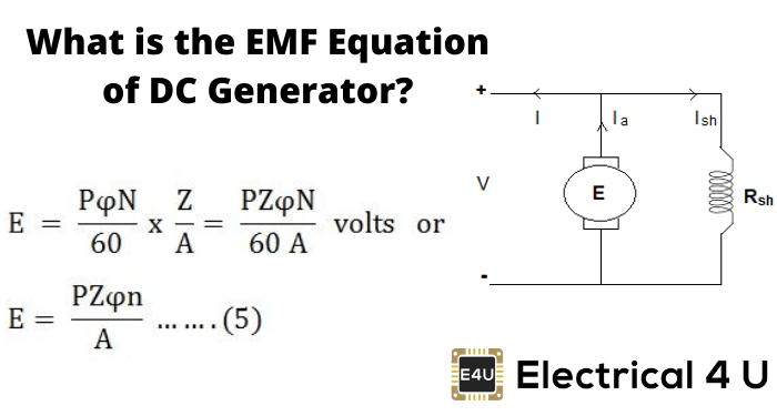 What Is The Emf Equation Of Dc Generator