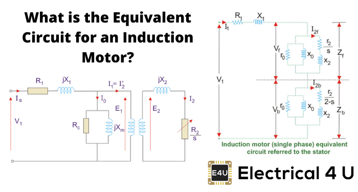 What Is The Equivalent Circuit For An Induction Motor