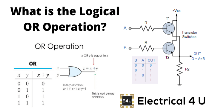 What Is The Logical Or Operation