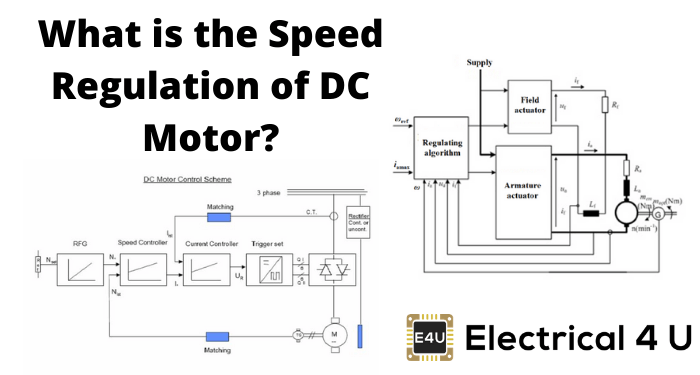 What Is The Speed Regulation Of Dc Motor