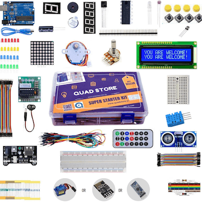 Quad Store Arduino Super Starter Kit